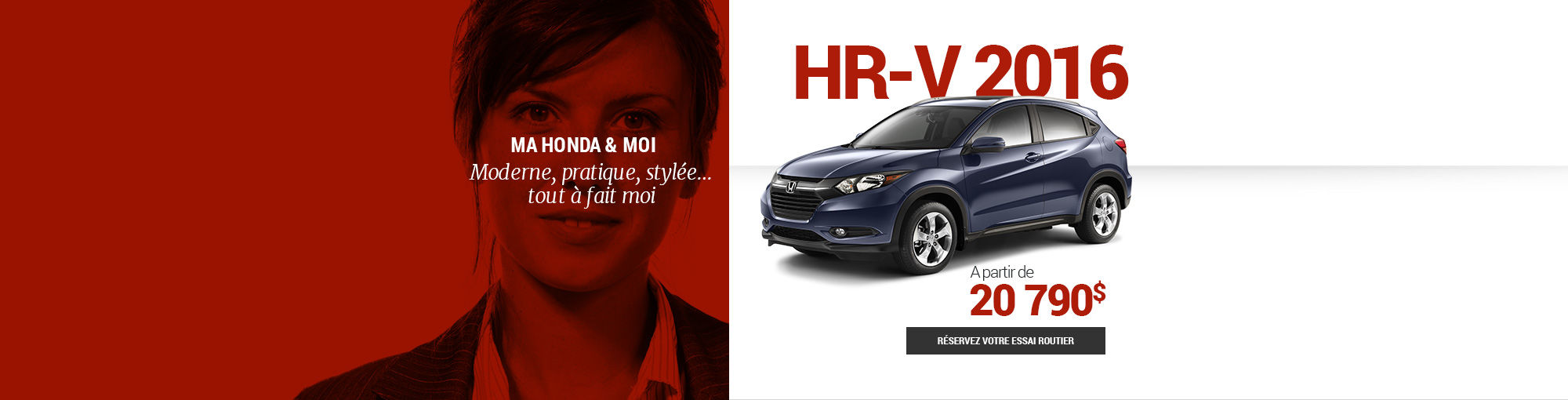 HR-V 2016 - DÉBUT MOIS