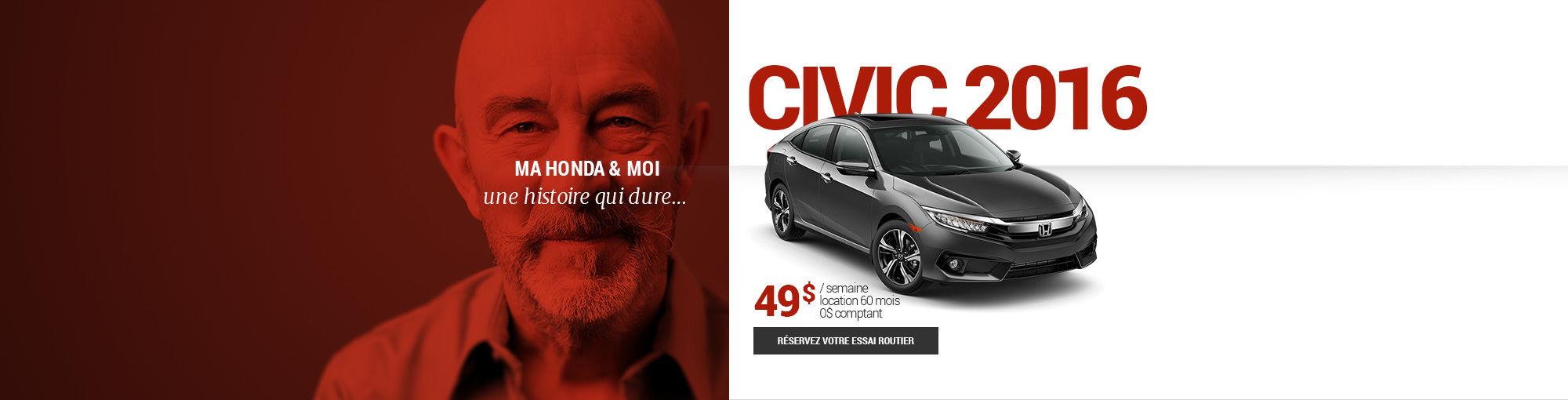Civic 2016 - mai-juin-juillet 2016