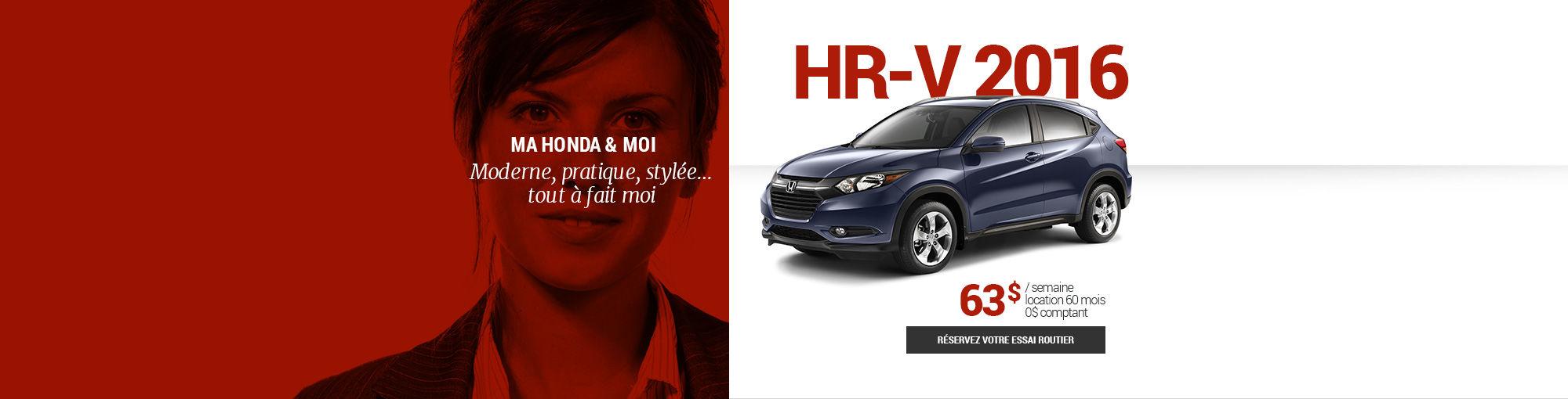 HR-V 2016 - octobre 2016