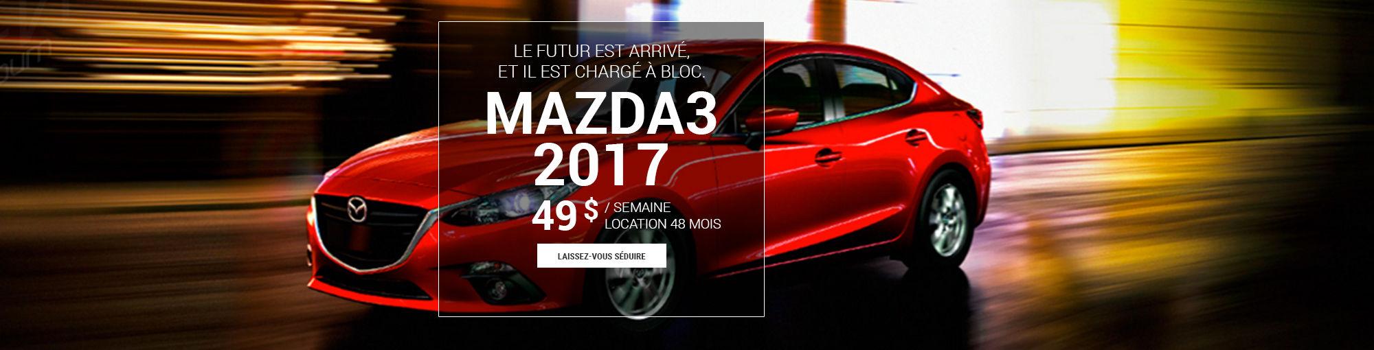 Mazda3 2017 -décembre 2016