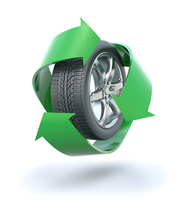 Collecting and Recycling Used Tires