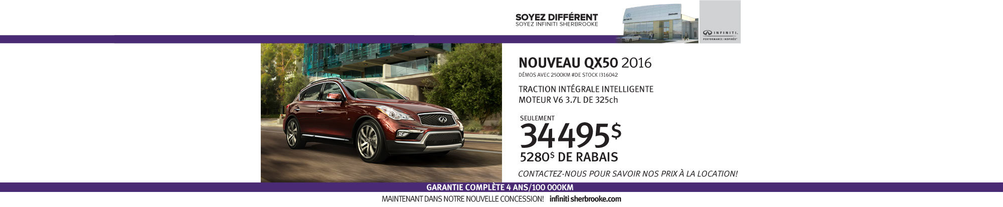 QX50 - Juillet