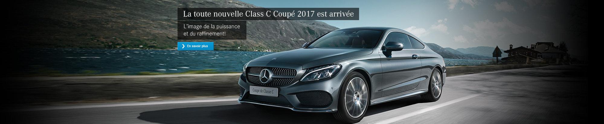 La toute nouvelle Classe C Coupé 2017 est arrivée!