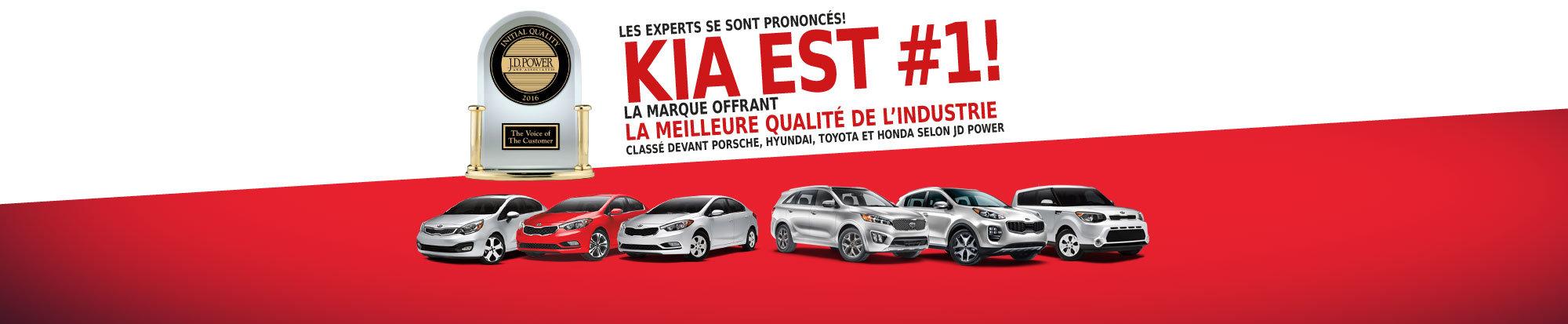 Kia: Classée devant Toyota, Honda, Hyundai
