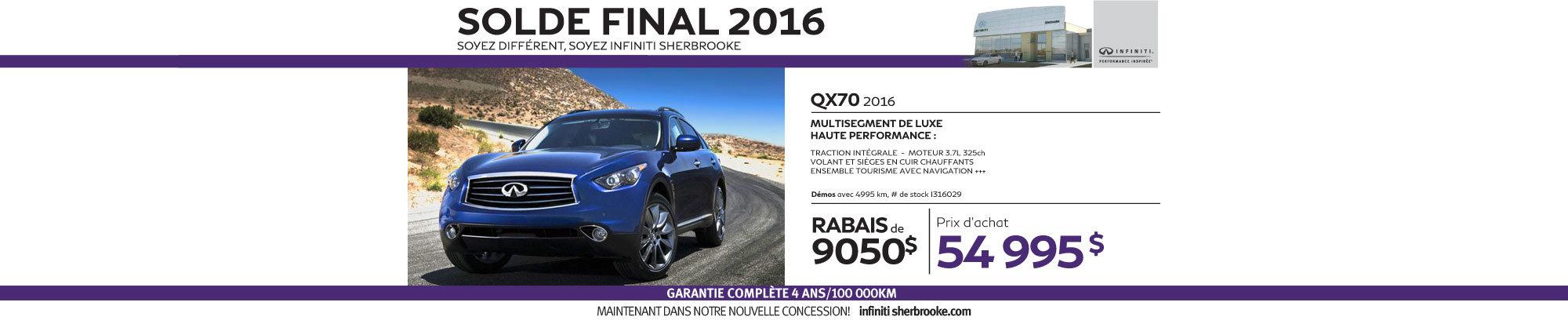 QX70 - Aout