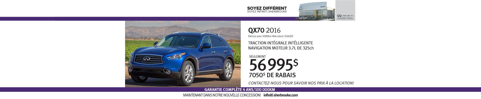QX70 - Juillet