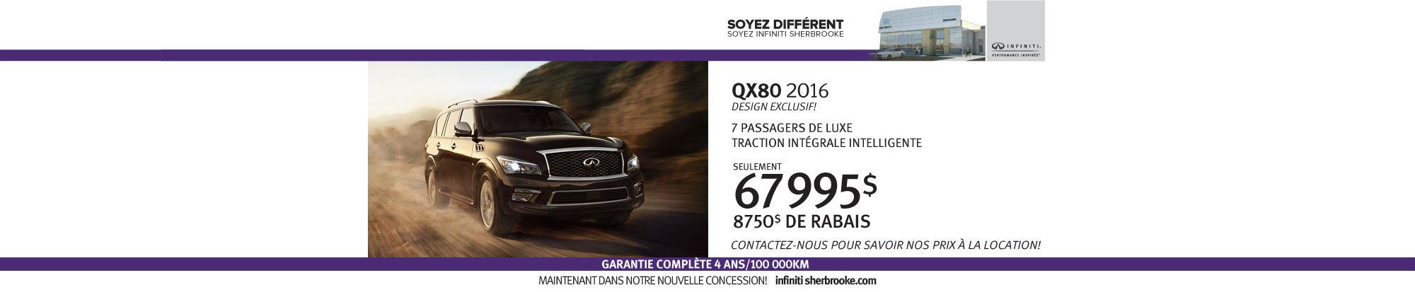QX80 - Juillet