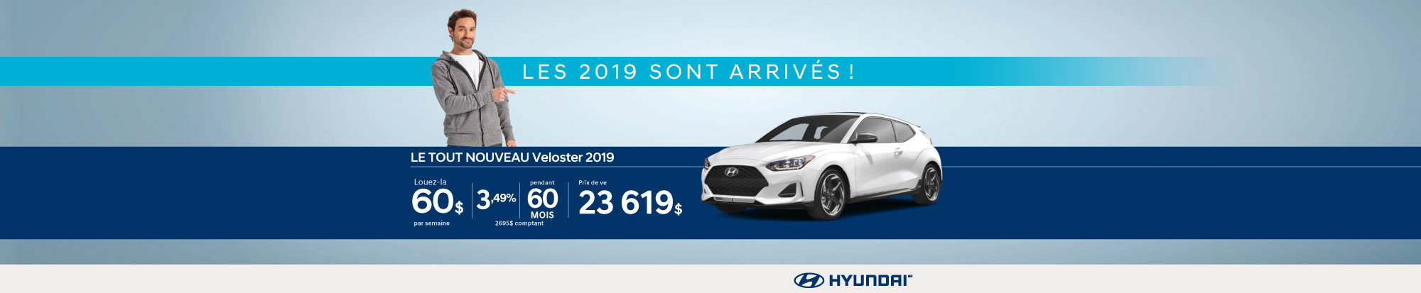 Nos Hyundai Veloster 2019 sont arrivés! web