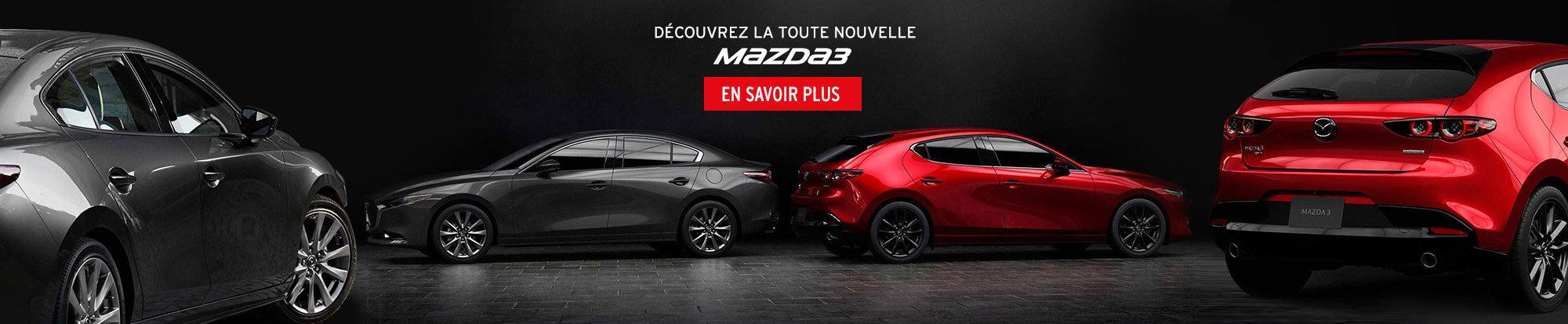 La toute nouvelle Mazda 3 (mobile)