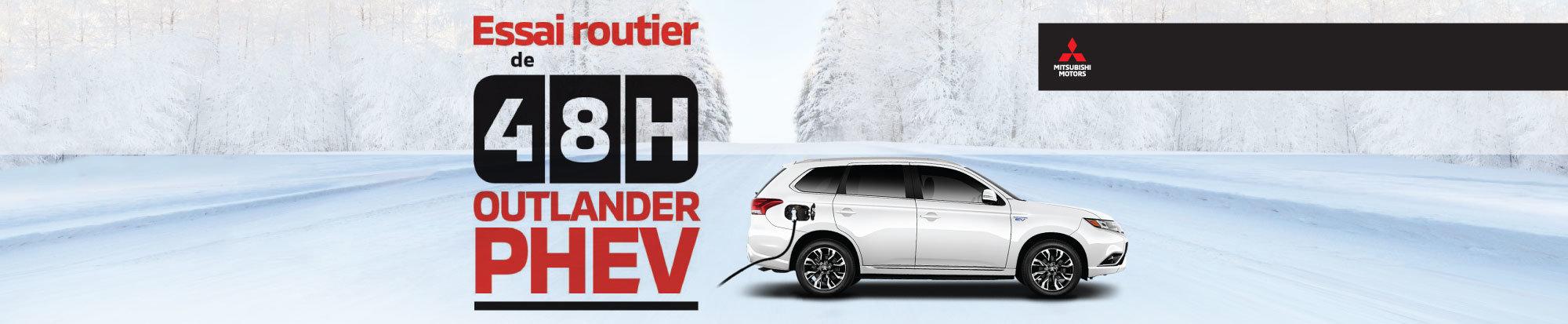 Essai routier de 48hrs - Outlander PHEV neuf! (header)