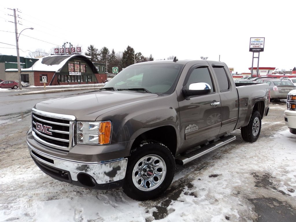 2012 gmc sierra 1500 4wd extended cab sl nevada edition 4x4 marche pied vendre groupe. Black Bedroom Furniture Sets. Home Design Ideas