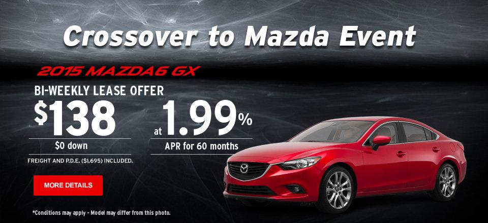 2015 Mazda6 GX - Crossover to Mazda Event