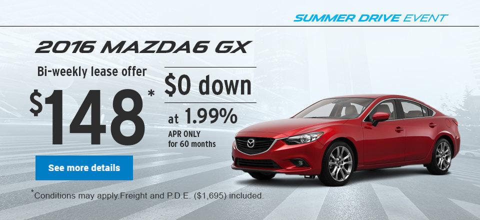 Summer Drive Event - Mazda6