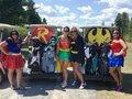 Golf, Tiki Huts, Inflatable Slides and Charitable Giving