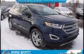 2017 Ford Edge Titanium AWD, Heated/Cooled Leather, Nav, Sunroof