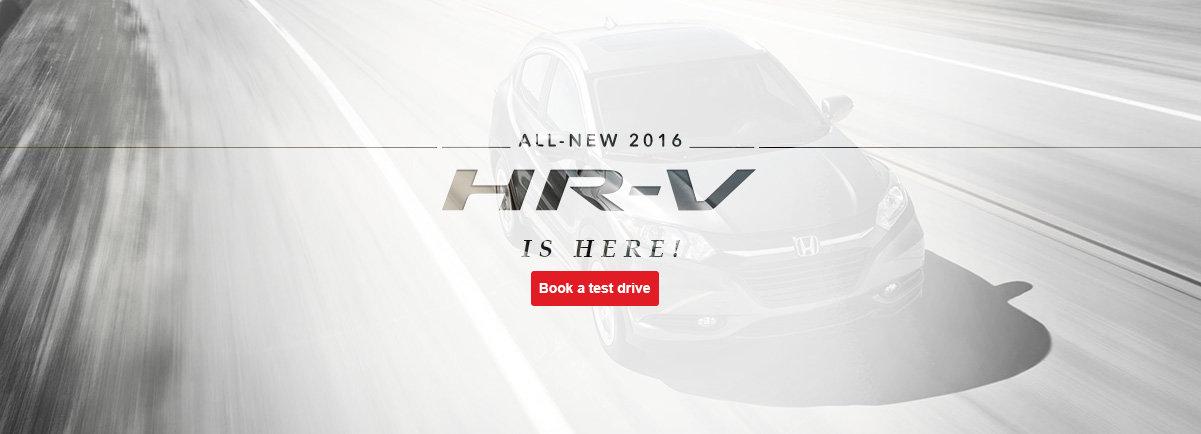 The all new 2016 HR-V