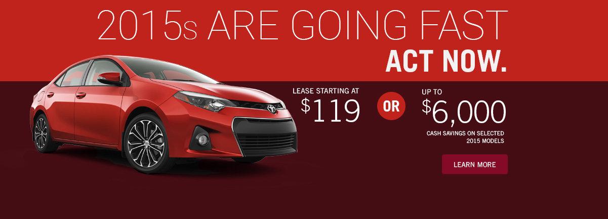 October Promo Toyota