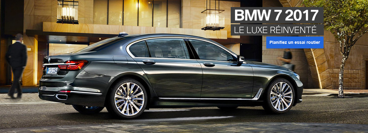 BMW série 7 2017