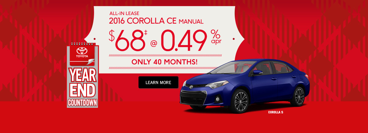 Buy A Toyota Corolla