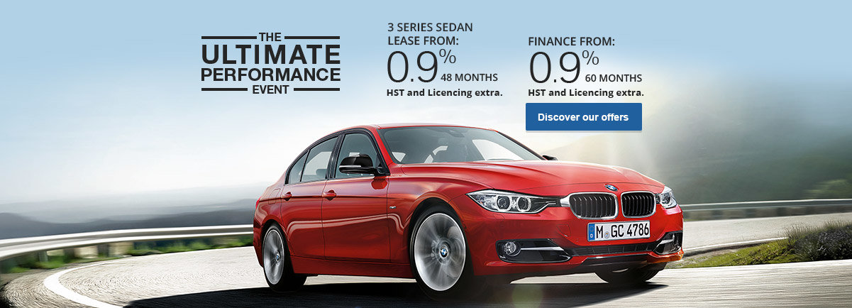 November Promo 3 Series Sedan