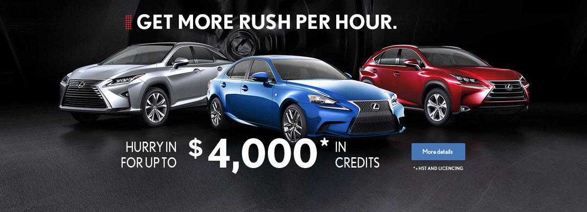 Get more rush per hour.