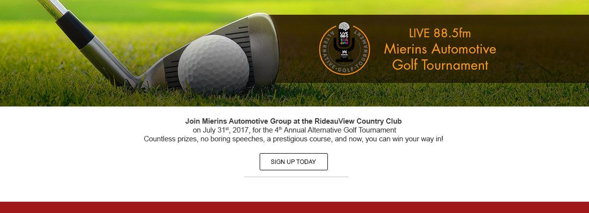 Ottawa's Alternative Golf Tournament