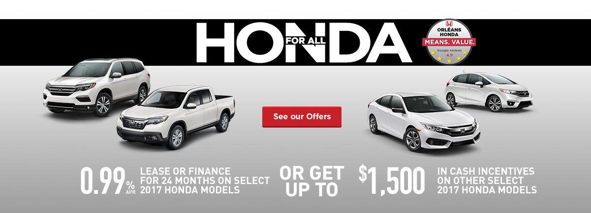 Honda for All! - Event