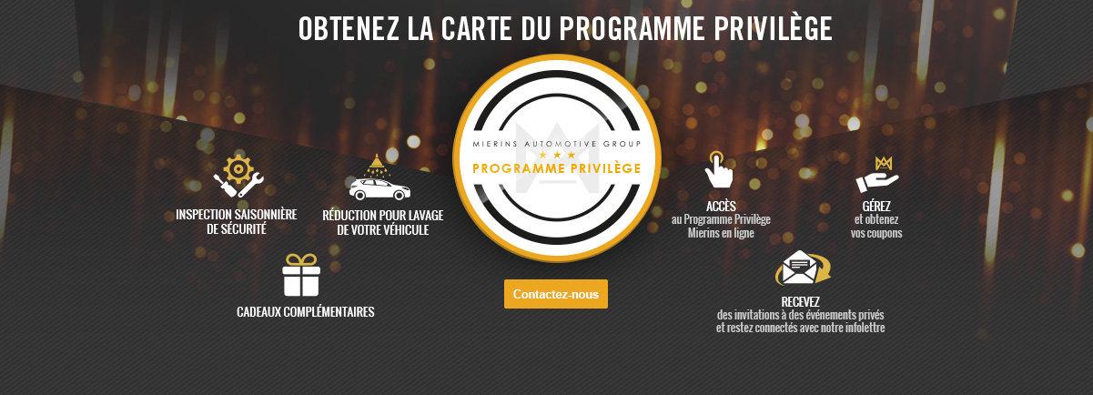 Programme Privilège