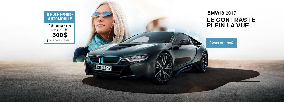 Spécial d'expo automobile - BMW i8 2017