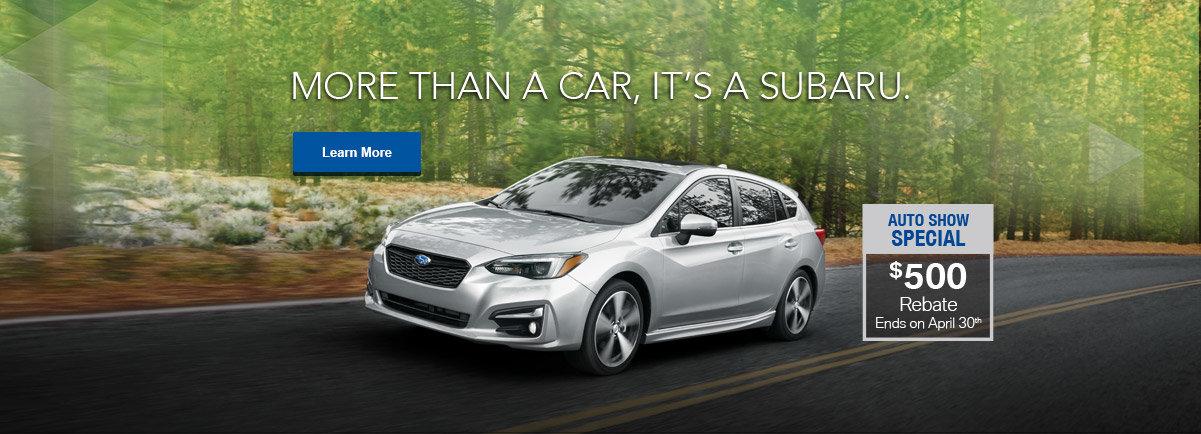 Auto Show Special - Subaru