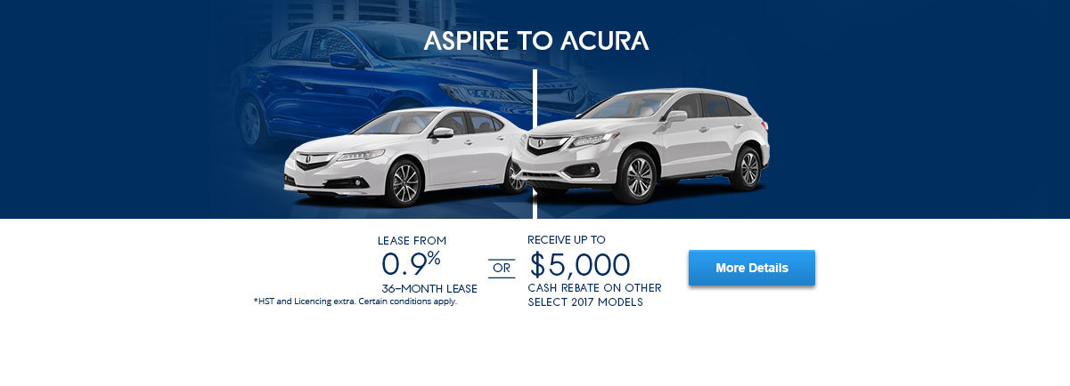 Aspire To Acura