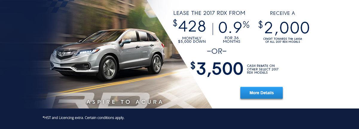 Aspire To Acura - RDX