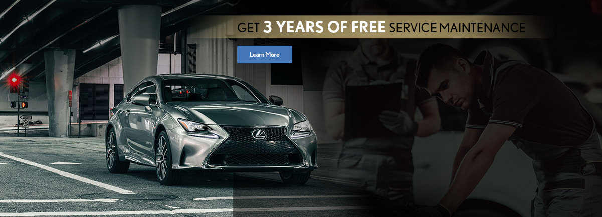 Get 3 Years Of Free Service Maintenance