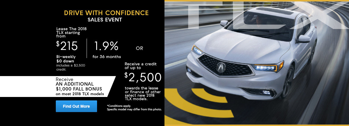 Drive with confidence TLX