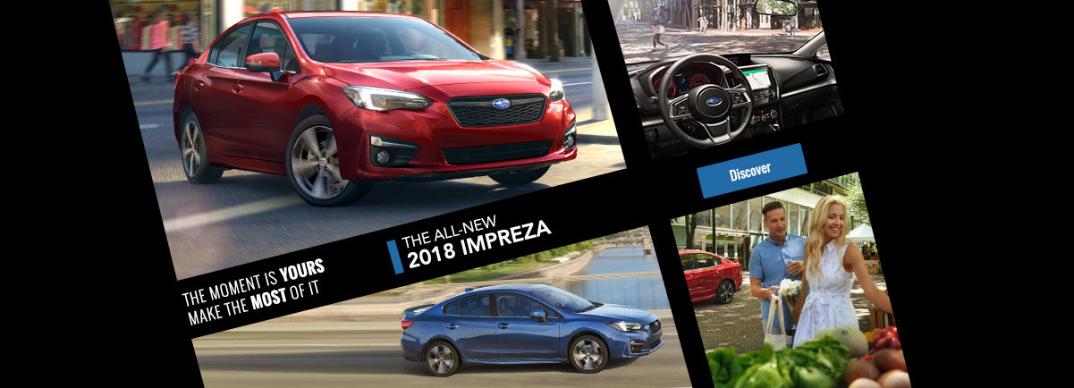 Discover the new 2018 Impreza