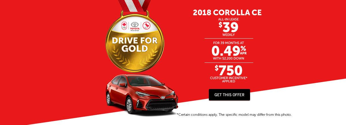 2018 Corolla - Mendes