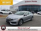 2017 Honda Civic LX, APPLE CAR PLAY,HEATED SEATS ,BACK UP CAMERA SAVE BIG ON THIS ALMOST NEW CIVIC