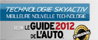 Le guide de l'auto 2012 nomme SKYACTIV de Mazda la meilleure technologie de l'année - 1