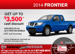 Save on the new 2014 Nissan Frontier!