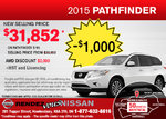 Get the all-new 2015 Nissan Pathfinder now!