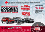 The Nissan Conquer All Conditions Sales Event