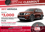 Save on the 2017 Nissan Armada!