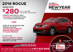 Drive Home the 2016 Nissan Rogue Today!