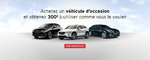 Promotion occasion Mazda