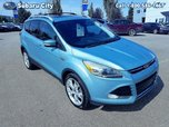 2013 Ford Escape Titanium,AWD,LEATHER,SUNROOF,NAVIGATION,AIR,TILT,CRUISE,PW,PL,ONE OWNER,CLEAN CARPROOF,LOCAL TRADE!!!!