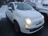 Fiat 500 2013 LOUNGE/CUIR/TOIT OUVRANT/SIEGES  CHAUFFANT/