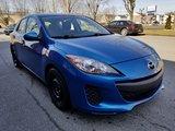 Mazda Mazda3 2012 GX- MANUELLE 5 VITESSES- BAS MILLAGE- AUBAINE!