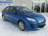 Mazda Mazda3 2013 GS-SKY 79200KM BLUETOOTH SIEGES CHAUFFANTS