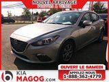 Mazda Mazda3 2015 GX / JAMAIS ACCIDENTÉ