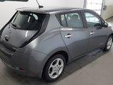 Nissan Leaf 2015 SV navigation, volant chauffant, prise 400